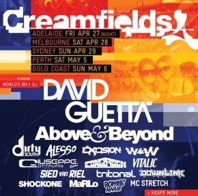 Creamfields Double Pass Giveaway!