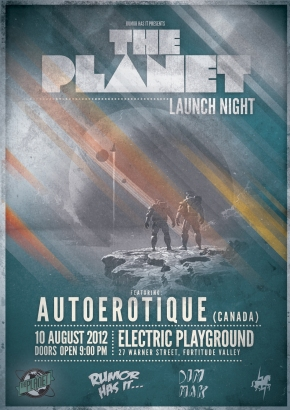 The Planet Launch Night (Autoerotique)