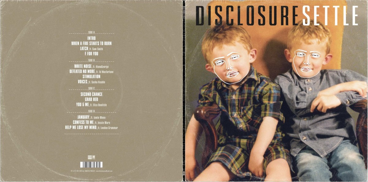 Disclosure - Settle (Tracklist)