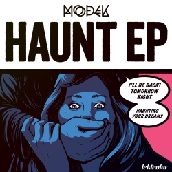 Modek - Haunt EP artwork
